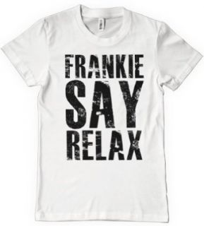 FRANKIE SAY RELAX T Shirt Funny Retro Soft GOES TO HOLLYWOOD 80s Music Tee Clothing