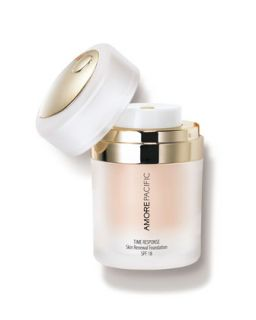 Time Response Skin Renewal Foundation SPF 18   Amore Pacific