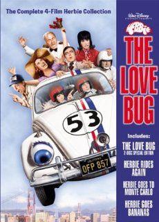 Herbie the Love Bug Collection (The Love Bug/Herbie Goes to Monte Carlo/Herbie Goes Bananas/Herbie Rides Again): Helen Hayes, Ken Berry, Stefanie Powers, Dean Jones, Don Knotts, Charles Martin Smith, Stephen W. Burns, Michele Lee, John McIntire, Keenan Wyn