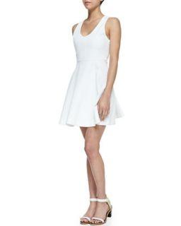 Womens Norton Sleeveless Flare Skirt Dress   Joie   Porcelain (LARGE)