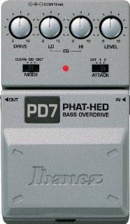 Ibanez PD7 Bass Phat Hed Distortion Pedal: Musical Instruments