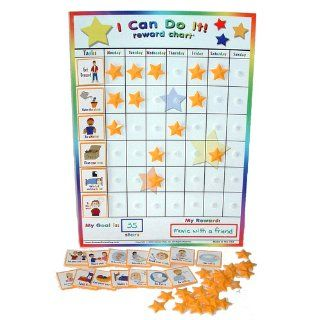"Kenson Kids   ""I Can Do It"" Reward and Responsibility Chart Made in the USA. 11"" X 15.5"": Toys & Games"