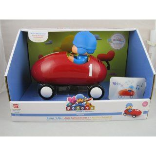 Pocoyo Bump N' Go Racing Car 24741: Toys & Games