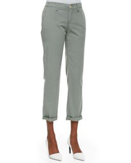 Womens Suzy Chino Island Twill Pants   Christopher Blue   White (10)