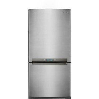 Samsung RB215AC 20 Cu. Ft. Refrigerator and Bottom Freezer with Twin Cooling System�, Stainless Platinum: Appliances