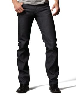 Mens SlimGuy Twill Selvage Jeans   Naked and Famous Denim   Indigo (32)