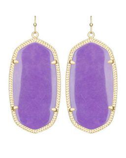 Danielle Earrings, Violet   Kendra Scott   Violet