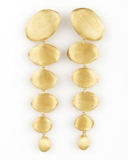 Confetti Oro Gold Drop Earrings   Marco Bicego   Gold