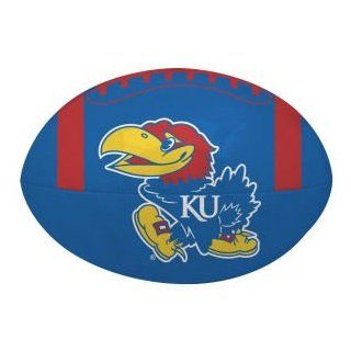 Kansas Jayhawks Jarden Sports Quick Toss Softee Football : Sporting Goods : Sports & Outdoors