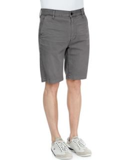 Mens Twill Chino Shorts, Sage   7 For All Mankind   Sage (31)