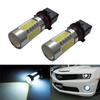 """iJDMTOY HID """"equivalent"""" CREE Plasma High Power P13W LED Bulbs For Chevy Camaro (with HID headlight) for Daytime/Fog Lights, Xenon White Automotive"""