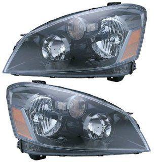 05 06 Nissan Altima HID Xenon Headlights Headlamps Head Lights Lamps Pair Set Automotive