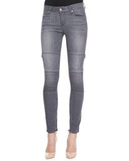 Womens Demi Skinny Moto Jeans, Hart   Paige Denim   Hart (29)