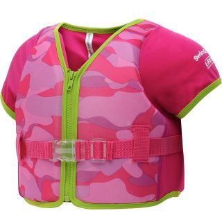 SWIM SCHOOL Girls 1 Piece Flotation Vest