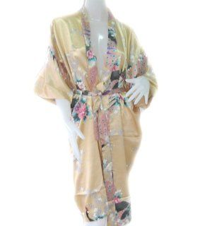 JAPANESE TRADITION BATHROBE PEACOCK BATH ROBE FOR WOMEN'S SOFT SILK FABRIC ROBE   ONE SIZE (FREE SIZE) SIZE = ARMPIT   ARMPIT 28 INCHES LONG FROM SHOULDER 45 INCHES   Throw Pillow Covers