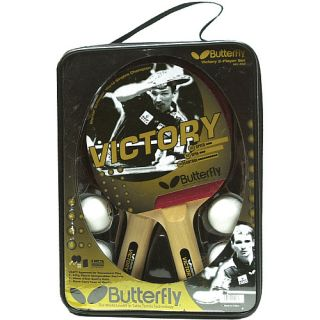Butterfly Victory 2 Player Racket Set (203)