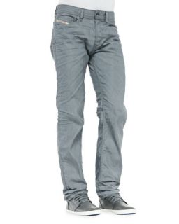 Mens Waykee Straight Leg Jeans, Grey   Diesel   Light gray (30)