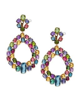 Murano 18k Multi Stone Chandelier Earrings   Marco Bicego   (18k )