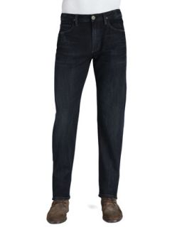 Mens Sid Classic Straight Fit Jeans in Troy   Citizens of Humanity   Dark blue