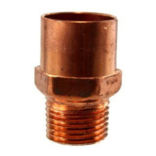 "3/4"" Sweat X 1/2"" Female NPT Pipe   Pipe Fittings"