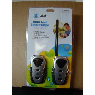 Kidz Toyz AT&T Walkie Talkies: Toys & Games