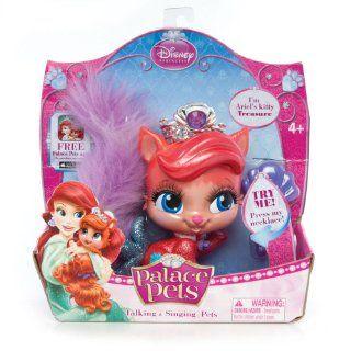 Disney Princess Palace Pets Talking/Singing Collectibles   Ariel (Kitty) Treasure Toys & Games