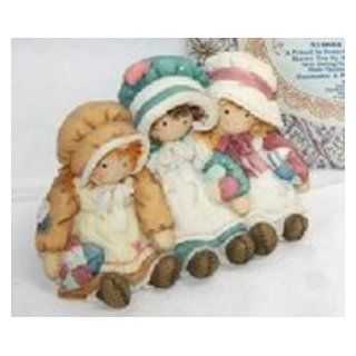 "1997 Enesco Down Petticoat Lane Figurine ""A Friend Is Someone Who Knows You By Heart""   Collectible Figurines"