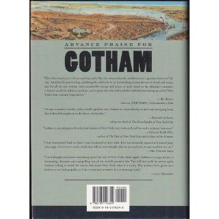 Gotham A History of New York City to 1898 (9780195116342) Edwin G. Burrows, Mike Wallace Books