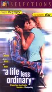 Life Less Ordinary [VHS]: Cameron Diaz, Ewan McGregor, Holly Hunter, Delroy Lindo, Dan Hedaya, Ian McNeice, Frank Kanig, Mel Winkler, Anne Cullimore Decker, Stanley Tucci, K.K. Dodds, Tony Shalhoub, Brian Tufano, Danny Boyle, Masahiro Hirakubo, Andrew Macd
