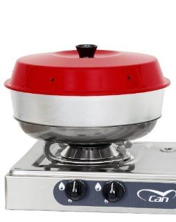 Omnia Oven. Your oven on the stove top. Ideal solution for boat oven, camp oven, and RV oven. Also known as a wonder pot. : Gas Oven : Sports & Outdoors