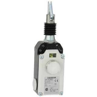 Siemens 3SE7 120 1BF00 Cable Operated Switch, Metal Enclosure, Molded Plastic Cover, Latching, Button Reset, M25 x 1.5 Conduit, For Less Than 10m Cable Lengths, 2 NC Contacts Electronic Component Limit Switches Industrial & Scientific