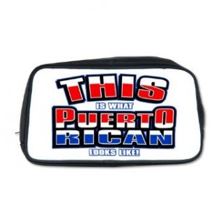 Artsmith, Inc. Toiletry Travel Bag This Is What Puerto Rican Looks Like with Flag Clothing