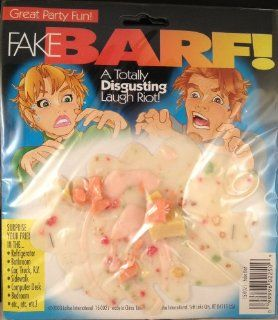 Fake Vomit barf Looks Real: Everything Else