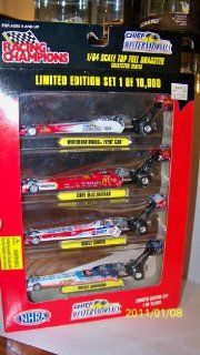 NHRA Ltd Ed Set of 4 Dragsters Nos 1996 Chief Winternationals Cory Mac Shelly Anderson Bruce Sarver Dragsters: Toys & Games