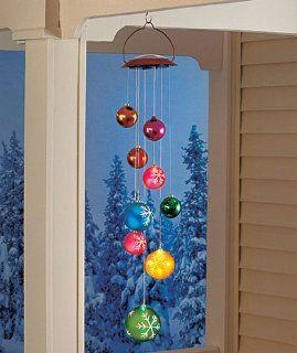 Solar Holiday Ornament Mobile   Decorative Hanging Ornaments