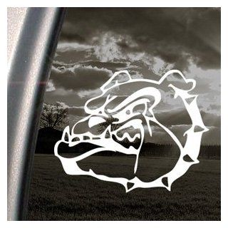 Mean Bulldog Face Decal Car Truck Window Sticker Automotive