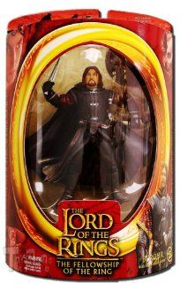 "The Lord of the Rings the Two Towers Series IV 6"" Figures: Boromir with Battle Attack Action: Toys & Games"