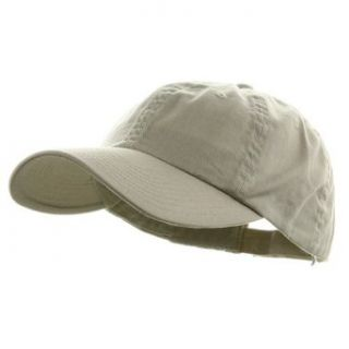 Low Profile Dyed Cotton Twill Cap   Putty W39S55D