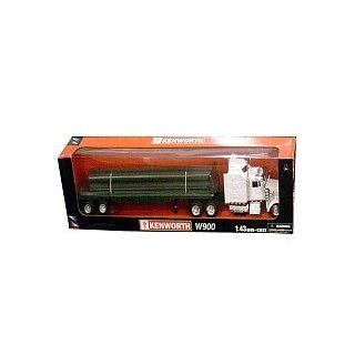 Fast Lane 1:43 Scale Might Haulers   Kenworth W900 Tractor Trailer with Flatbed : Other Products : Everything Else