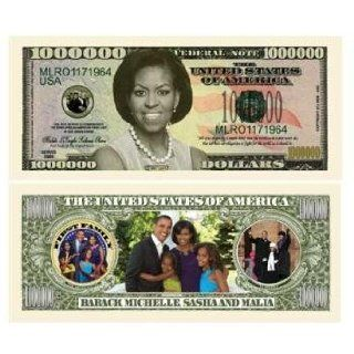 DDI Michelle Obama Million Dollar Bills Case Pack 100: Electronics