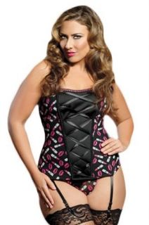 One Million Kisses Bustier: Clothing