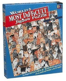 World's Most Difficult Jigsaw Puzzle Cats Toys & Games