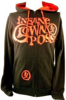 "Insane Clown Posse Mens Hoodie   ICP ""Most Hated Band in the World"" on Black (Large): Clothing"