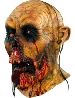 Scary Masks Zombie Tongue Mask Halloween Costume   Most Adults: Clothing