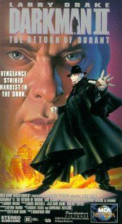 Darkman 2: Return of Durant [VHS]: Larry Drake, Arnold Vosloo, Kim Delaney, Ren�e O'Connor, Lawrence Dane, Jesse Collins, David Ferry, Rod Wilson, Jack Langedijk, Sten Eirik, Steve Mousseau, James Millington, Bradford May, Bernadette Joyce, David Eick,