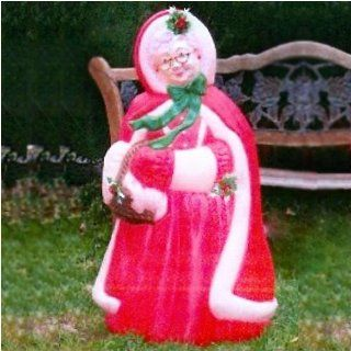 BRAND NEW Mrs Claus Lighted Christmas Decoration Blow Mold  Other Products
