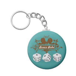 bunco game design key chains