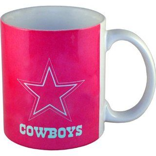 Dallas Cowboys Pink Logo Coffee Mug Kitchen & Dining