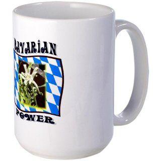 Bavarian Power large coffee mug Large Mug   Standard Kitchen & Dining