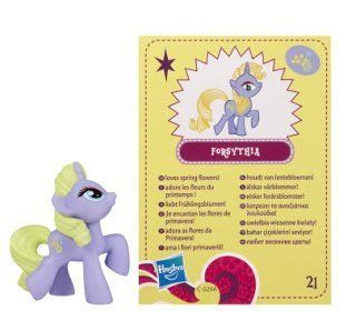 My Little Pony Friendship is Magic 2 Inch PVC Figure Series 4 Forsythia Toys & Games